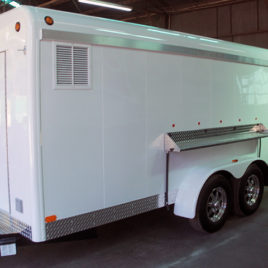 2019 Triple-B Park n Serve Refrigerated Special Event Trailer