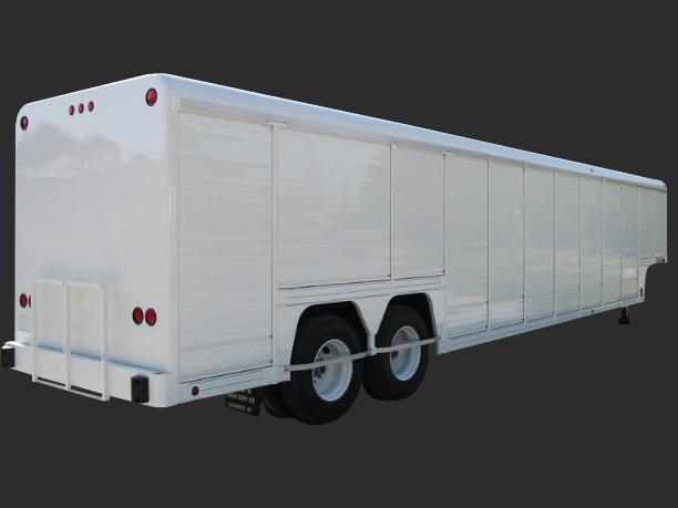 Beverage Trailers Triple B Truck Body