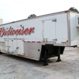 Hackney Brothers refrigerated keg beer trailer