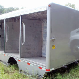 2007 Hackney 4.5 Bay Aluminum Beverage Body