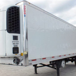 2011 Utility Refrigerated Van Trailer