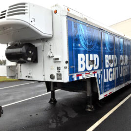 2008 Triple-B 16-Bay Combination Route Trailer