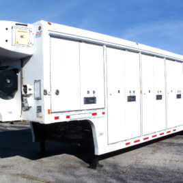 2008 Mickey 10 Bay Refrigerated Route Trailer