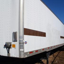 2008 Utility Bulk Dry Van Trailer