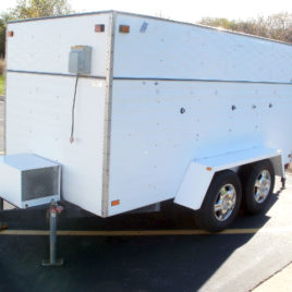 1999 Pauli Cooler Refrigerated Special Event Trailer
