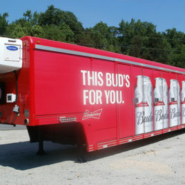 2012 Triple-B 16 Bay Combination Route Trailer